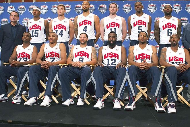 2012 Olympics Team USA Basketball