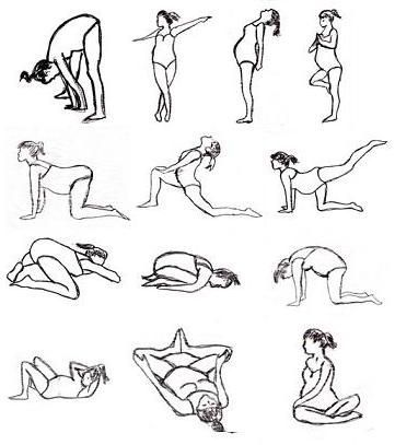 Pregnancy Stretches. Will help our bodies   feel the best during pregnancy, labor, delivery and as new moms. The more we   practice these kinds of movements the easier it will be to take different   positions that will help so much during labor and delivery.