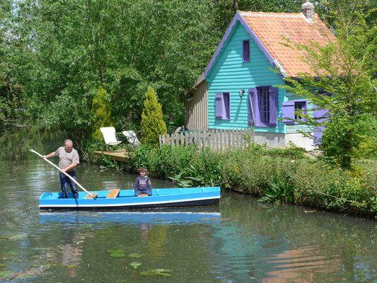 Nos maisons-cabanes - gite cabane insolite Amiens Hortillonnages