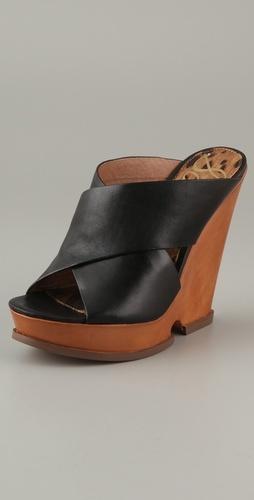 Sam Edelman Jorgia Cutout Wedge Sandals, $140.00 | www.findbuy.co #SamEdelman