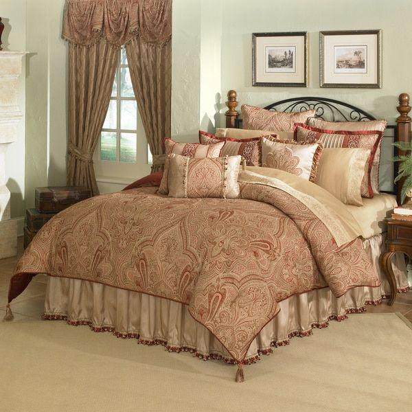 veratex castille 4piece kingsize comforter set