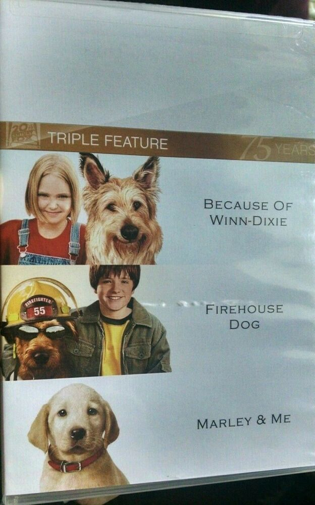 Details About Because Of Winn Dixie Marley And Me Firehouse Dog