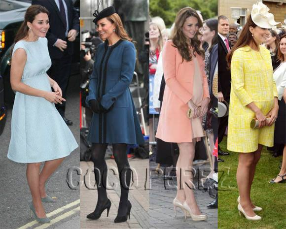 #KateMiddleton's 2nd pregnancy means more fierce maternity styles! Revisit her 1st pregnancy HERE! http://perezhilton.com/cocoperez/2014-09-08-kate-middleton-pregnant-with-second-child-prince-george-maternity-style