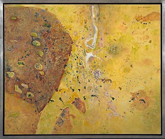 """Winjana Gorge, Kimberleys, I"" by Fred Williams"