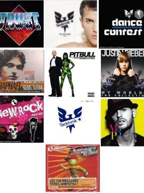 LOT 10 Album's AUDIO - neuf - ref1011 ************************************** Raphael - Je Sais Que La Terre est Plate - édition limitée    (neuf) Pitbull-Mizusawa dans rebelution-cd album .................   (neuf) Rock One - compilation new rock 20 titres cd ..............   (neuf) TECKTONIK - VOL 5 - inclus 12 pass gratuits - 2 x cd ......   (neuf) BIEBER JUSTIN - MY WORLDS - THE COLLECTION Edition LimitéeCDx2(neuf) JUMPERS UNITED - COMPILATION (CD BOX x...