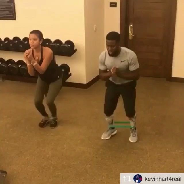 Repost from @kevinhart4real  Health is wealth....No days off damn it. It's a lifestyle. #MoveWithHart #HustleHart Check out muscleandfitness.com for the full story
