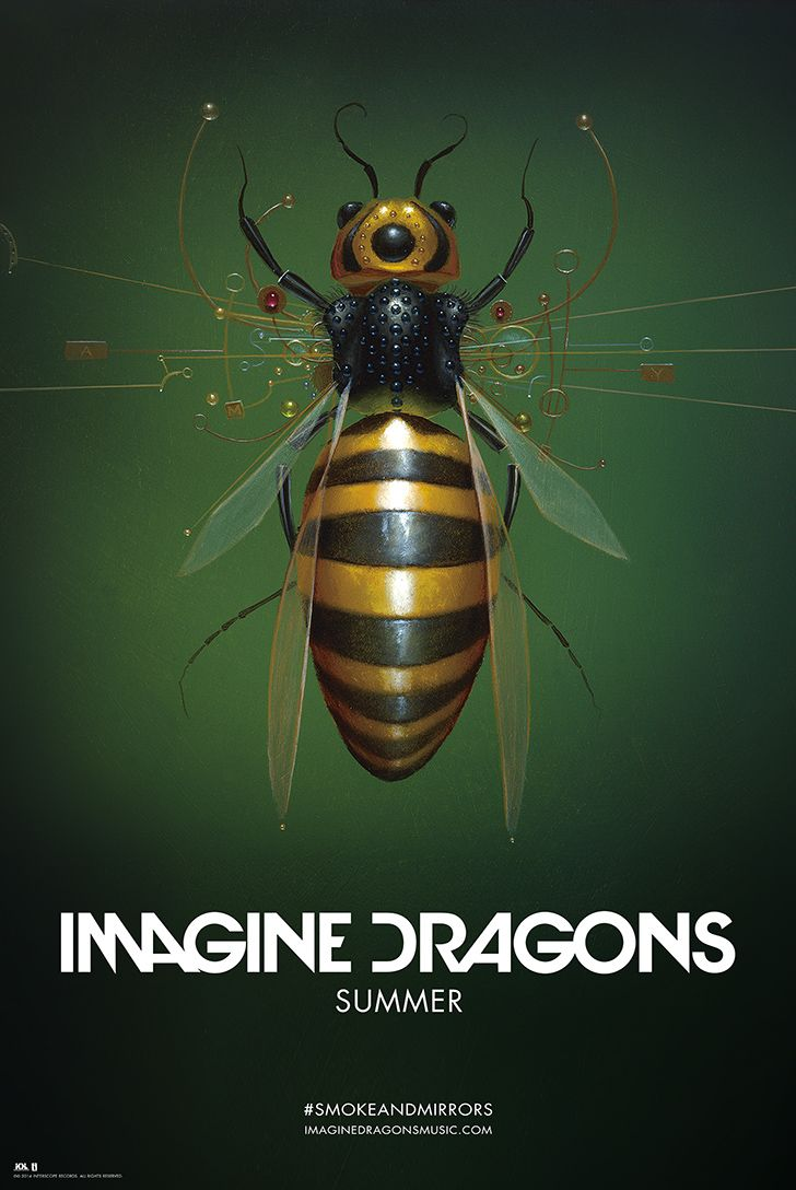 Summer Exclusive Lithograph | Imagine Dragons