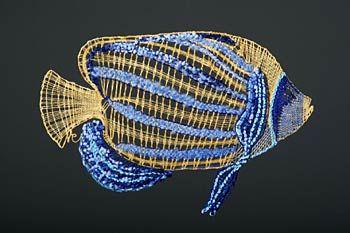 Рыба с полосами ŽLUTOMODRÝMI II. - Нажмите для увеличения изображения