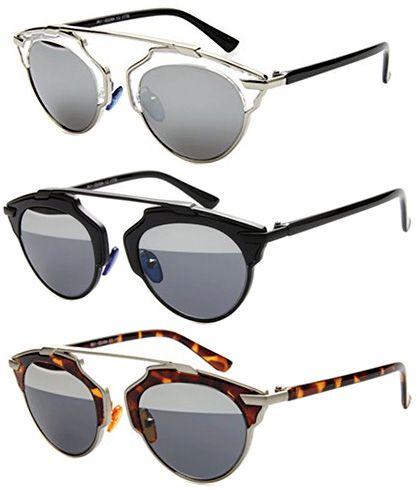 Gant Brow Bar Sunglasses (Dior So Real knockoffs)