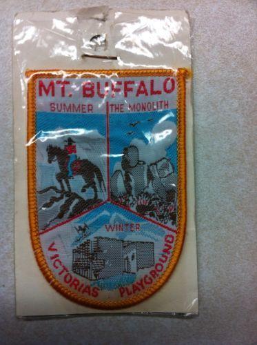 Vintage Souvenir Patch Mt Buffalo Victoria in Collectables | eBay
