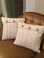 Ravelry: Annero's Pillow cases.  DROPS Nepal
