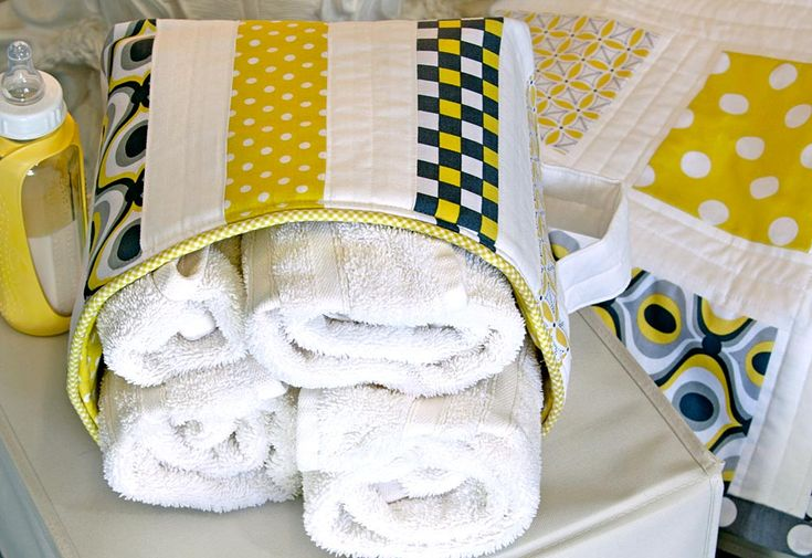 50 fabric baskets and bins tutorials towels diy and