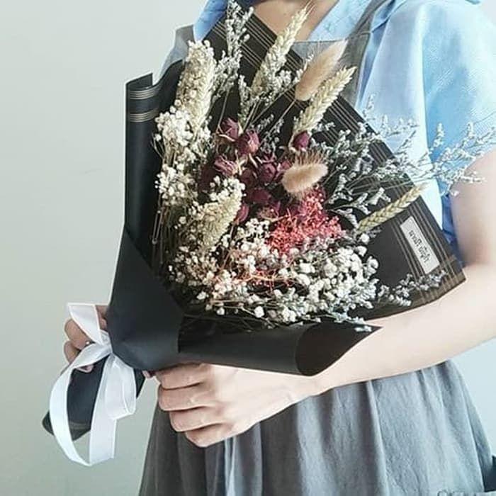 Pin Oleh Balqishabiba Di Buket Flora Bunga Kering Buket Bunga
