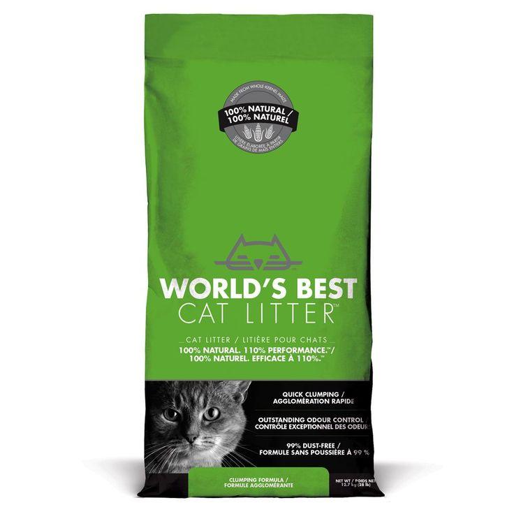 Animalerie  Litière Worlds Best Cat Litter pour chat  2 x 127 kg
