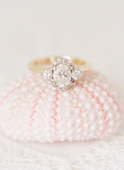 Engagement ring for the hopeless romantic: http://www.stylemepretty.com/2016/11/23/signs-hell-propose-this-holiday-season/ Photography: Rebecca Yale - http://www.rebeccayalephotography.com/