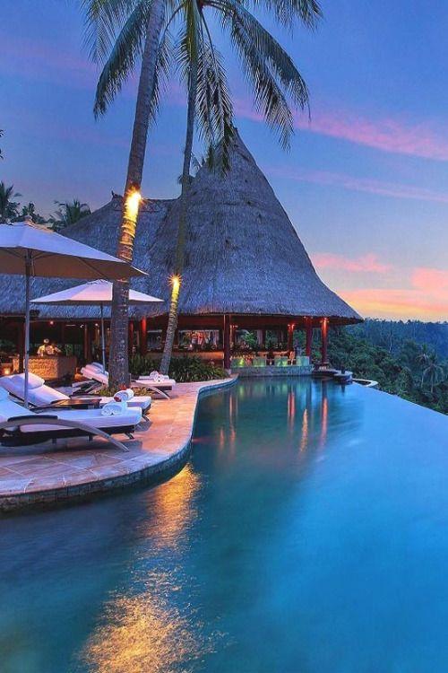 livingpursuit:  Infinity Pool at Viceroy Bali