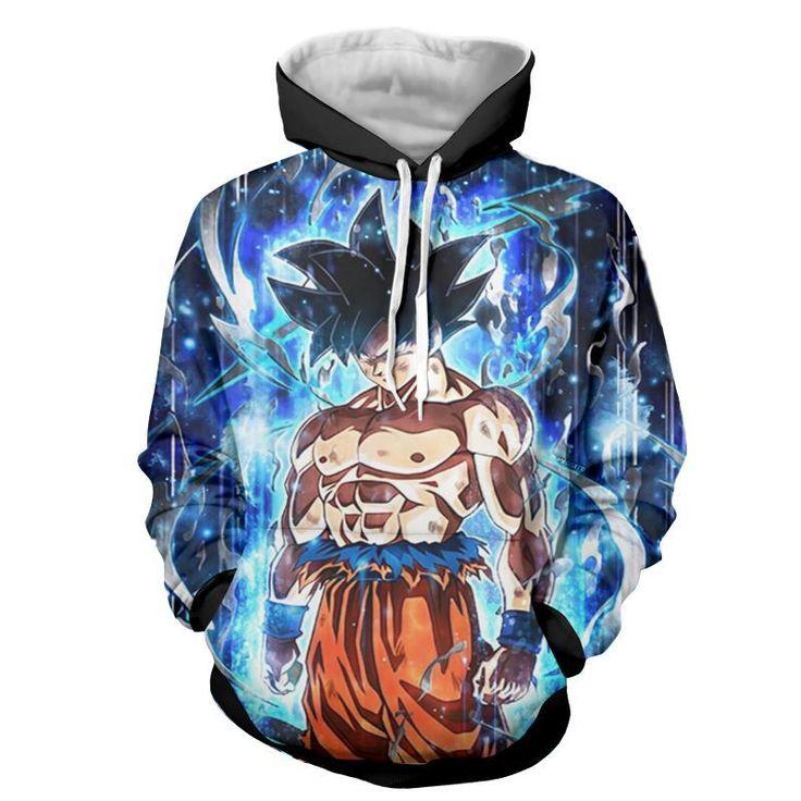 Dragon ball z hoodies ultra instinct goku hoodie dbz