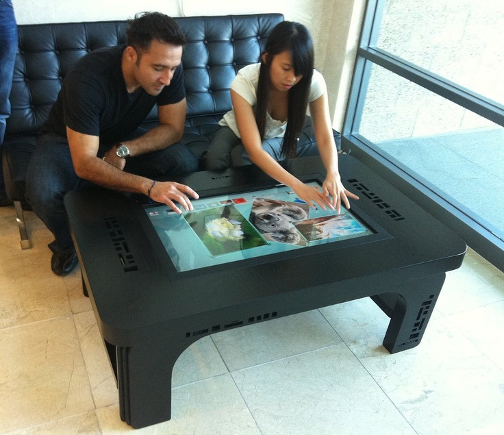 Use A #MultiTouch Table At Your Favorite Coffee Place!