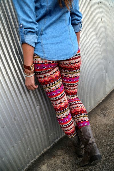 Bold Colors {Leggings}