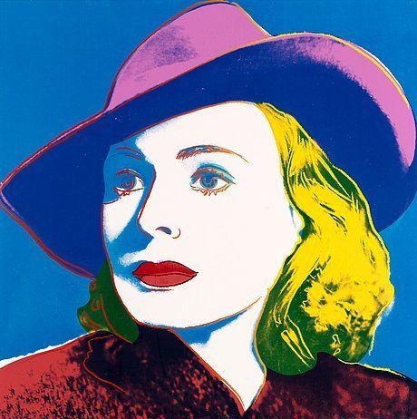 """Andy Warhol United States 1928-1987 """"Ingrid Bergman"""""""