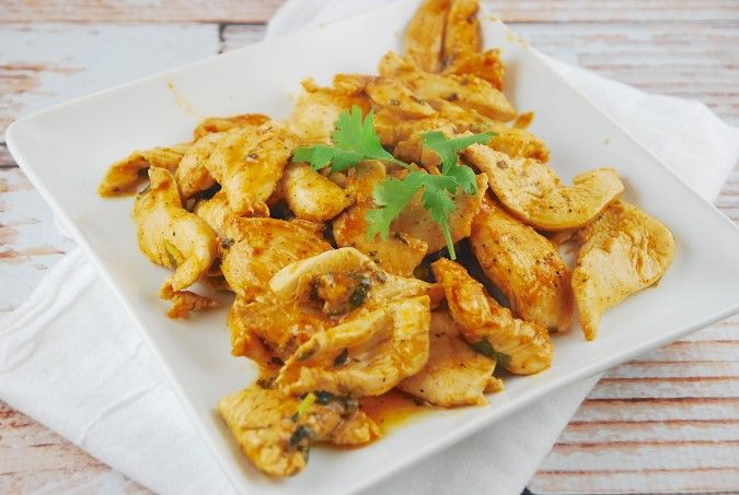 Cilantro Lime Chicken Recipe - 4 Points + - LaaLoosh