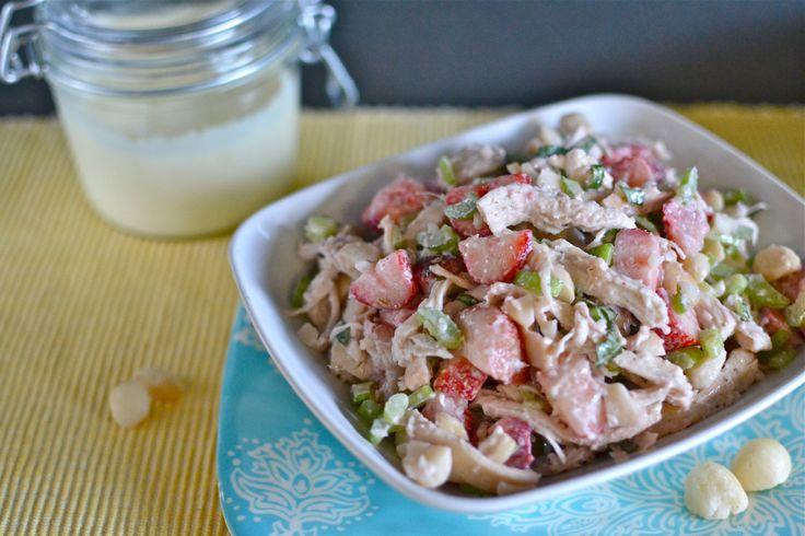 Paleo Nutty Strawberry Salad