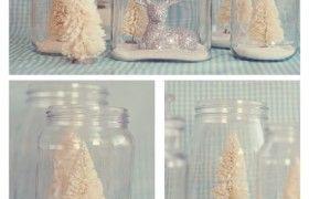 Christmas Mason Jars {Tortoise and the Hare}