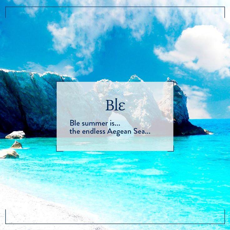 Like it? Share it! #BleSummer #ILoveGreece #INeedSomeHolidays #GreekIslands