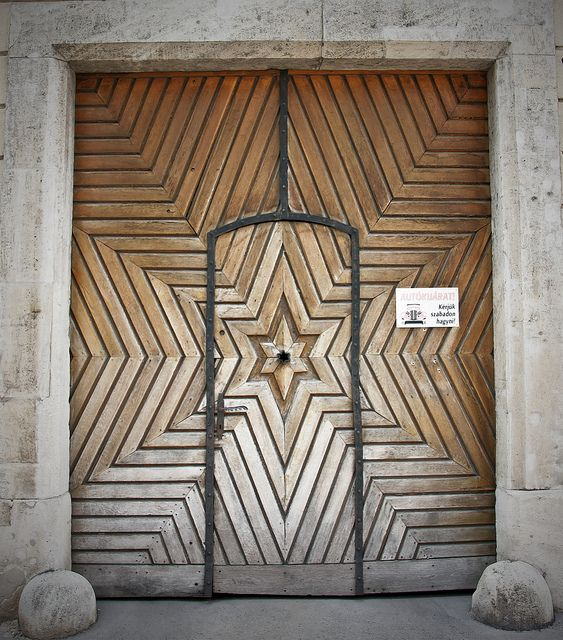 The Star Door.  Or maybe instead of a door just remove the door frame and have this pattern as a decorative wall.