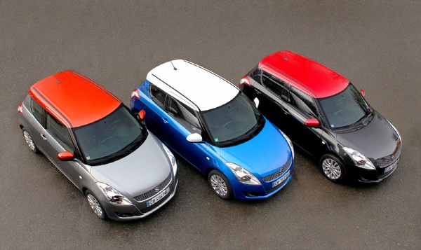 Suzuki Swift So Color PICTURES