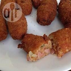 Croquete de presunto e queijo @ allrecipes.com.br