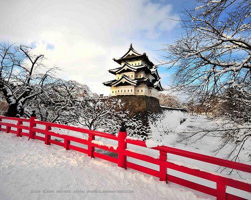 Hirosaki Castle Winter