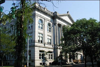 Rensselaer County Courthouse, Troy, NY