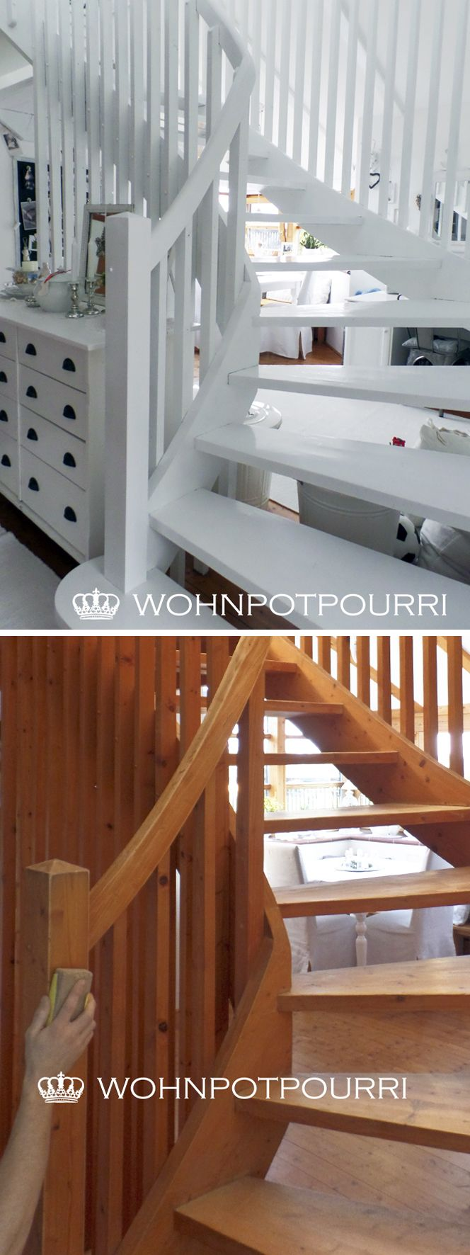 best 25+ holztreppe streichen ideas on pinterest, Moderne