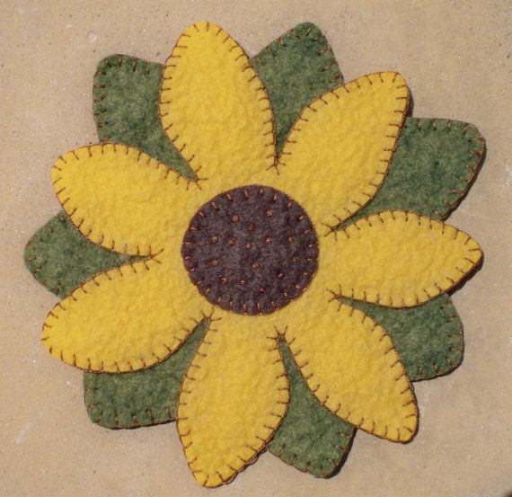 Sunflower Candle Mat