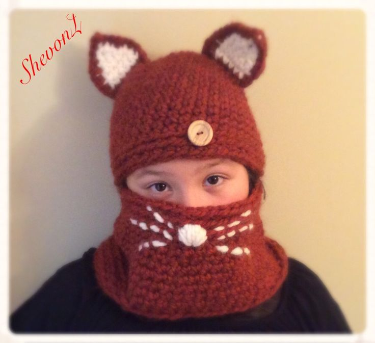 Camille Cat Set in Dark Burnt Orange / Crochet Hat and Cowl Set. by ShevonL on Etsy https://www.etsy.com/listing/209278678/camille-cat-set-in-dark-burnt-orange