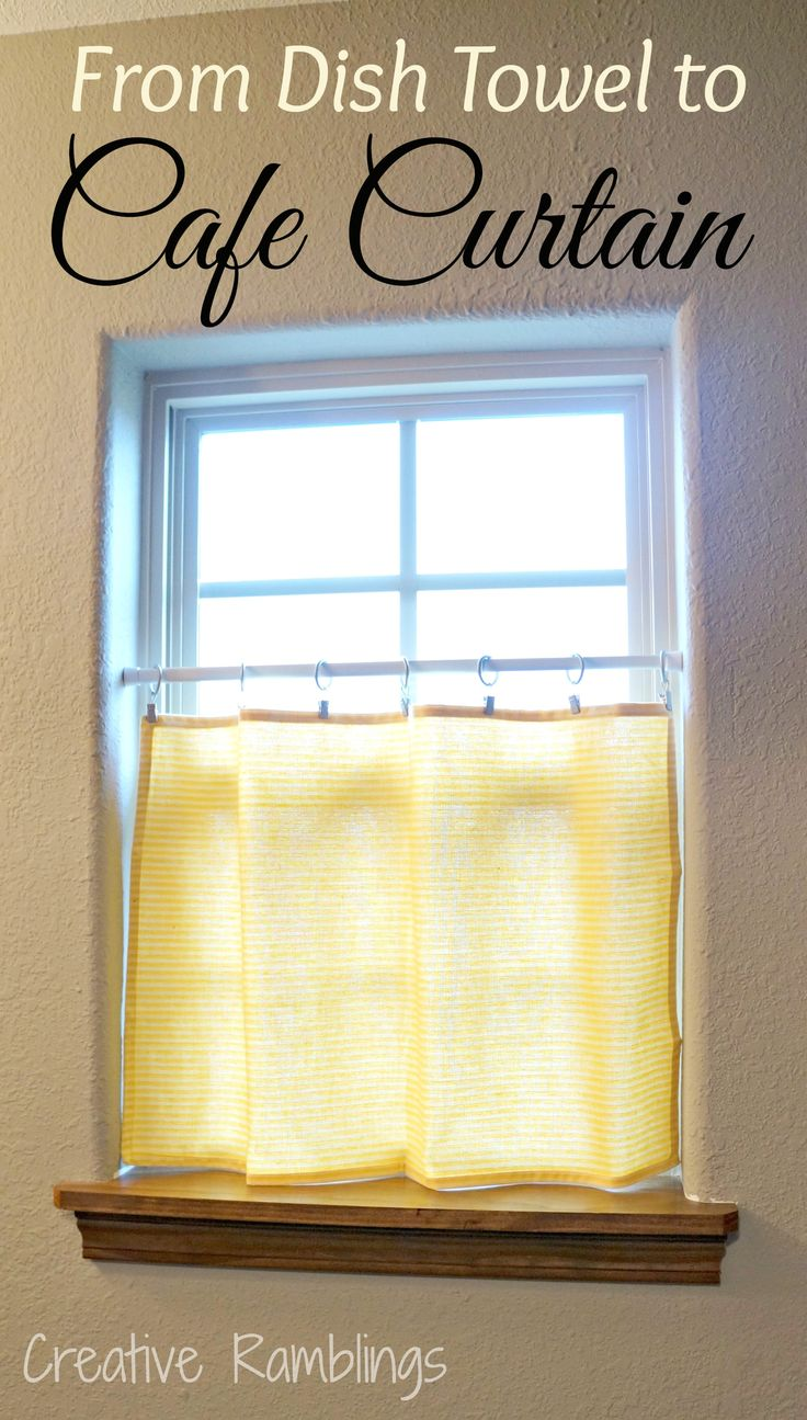 Reserved for valry fetrow wooden cornice primitive picture - From Dish Towel To Cafe Curtain Quick And Easy Window Covering Great Use For