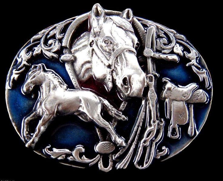 Equestrian Belt Buckle Mere Horses Ranch Cowgirl Women s Western Belts & Buckles #western #horse #beltbuckle  #rodeo #westernbuckles