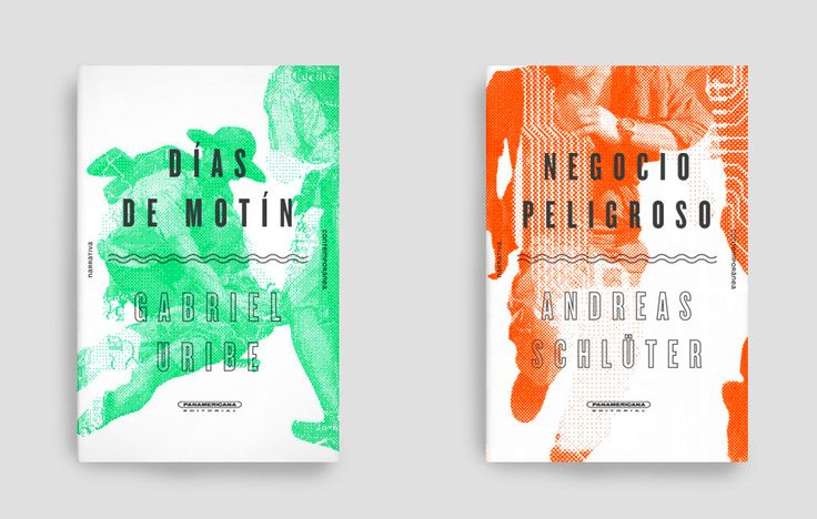 Covers for a new fiction collection. Design by Rey Naranjo. (Panamericana Editorial, 2015)