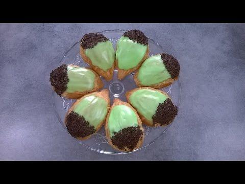 Les glands - Apprendre la pâtisserie - YouTube