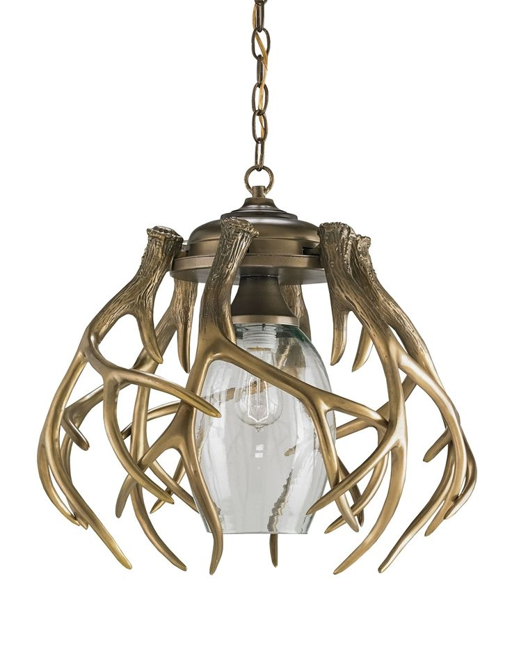 Currey and company 9804 gamekeeper one light pendant washed bronze finish pendant · chandelier lightingmodern