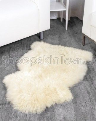 Shop SheepskinTown for the best selection of Single Sheepskin Rugs. Buy the Ivory White Sheepskin Rug by Bowron with fast same day shipping.