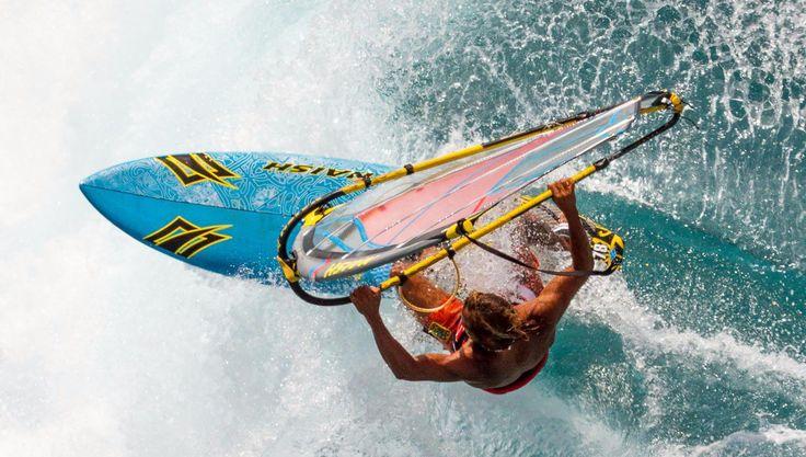 Planche à voile de freeride / de slalom / allround - TITAN CARBON - Naish Windsurfing - Vidéos