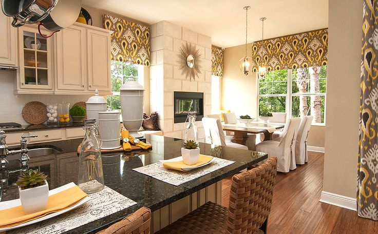 Decorated model homes model home merchandising to for Model home decorating ideas