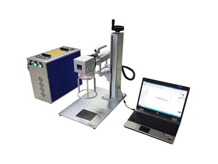 Mini Handheld Fiber Laser Marking Machine 10w 20w 30w 50w Laser Marking Laser Engraving Machine Metal Engraving
