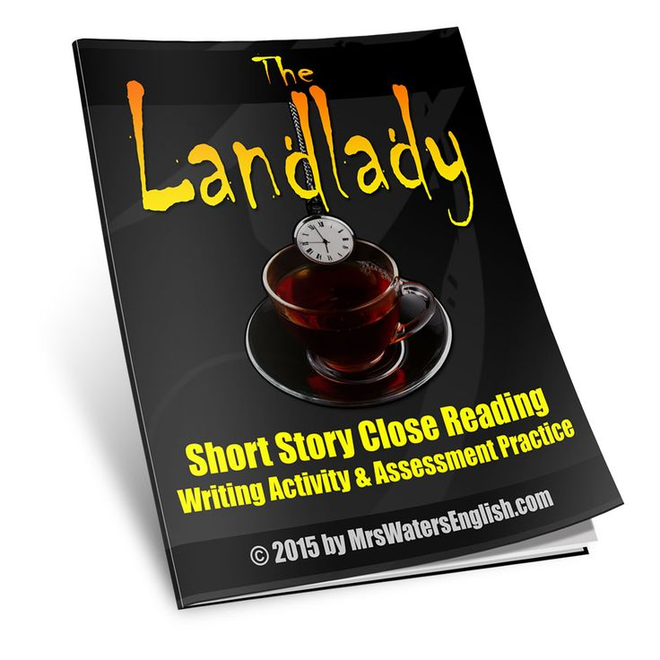 """Roald Dahl's short story """"The Landlady"""" is a deliciously creepy tale that is sure to enthrall even the most jaded middle school student. With Halloween only a month and a half awa…"""