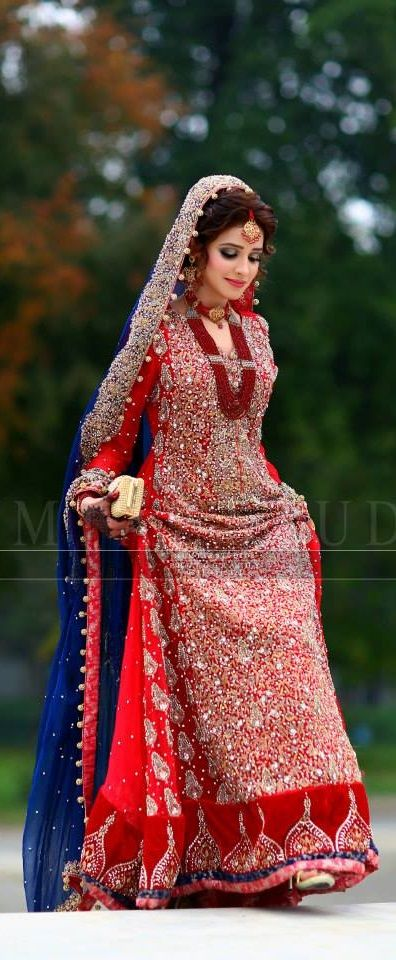Pakistani wedding fashion...