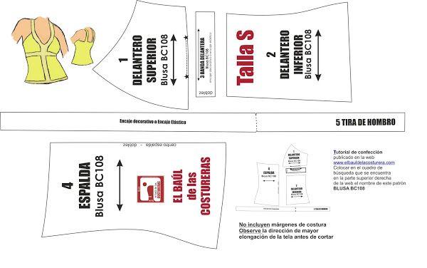 Moda de verano, patrones de costura gratis para imprimir en casa