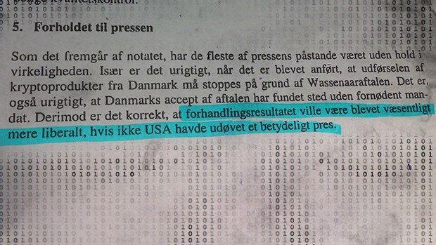 OVERVÅGNING. Se papirerne her: USA brugte 'det gode selskab' til at presse Danmark Aktindsigter viser, at Danmark i årevis har været en central del af aflytningsaftalen 'det gode selskab'. Dokumenterne viser at USA brugte aftalen til at true den danske regering ind på linje. D. 30/6 2014