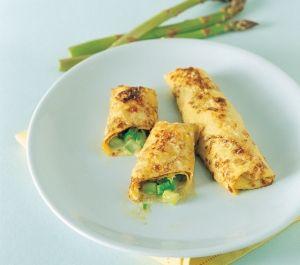 Crepe agli asparagi